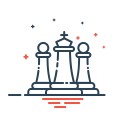 Chess King Game Icon