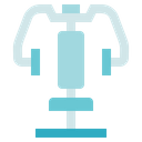Fitness Gym Chest Press Icon