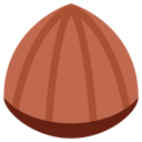 Chestnut Plant Nut Icon
