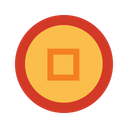Chinese coin Icon
