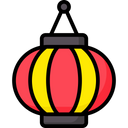 Chinese Light Icon