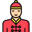 Chinese Man Icon