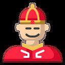 Chinese Man Avatar Icon
