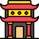 Chinese Temple Icon