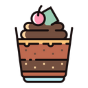 Chocolate Mousse Icon