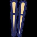 Chopsticks Chinese Japanese Chopsticks Icon