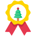 Christmas Badge Icon