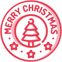 Christmas Badge Badge Sale Icon