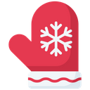 Christmas gloves Icon
