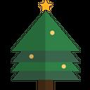 Christmas Tree Christmas Decoration Icon