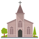 Church Christian House Religious Building Icon