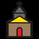 Church Building House Icon
