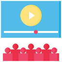Cinema Video Streaming Video Icon