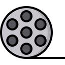 Cinema Reel Reel Roll Icon
