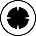 Circle Cross Gun Icon