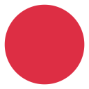 Circle Geometric Red Icon