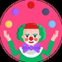 Circus Act Circus Performer Balls Icon