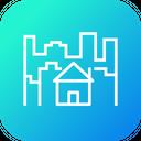 City Building Home Icon