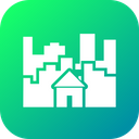 City Construction Home Icon