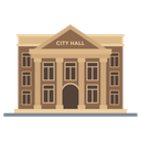 City Hall Town Hall Civic Building Icon