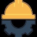 Civil Engineer Helmet Icon