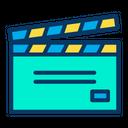 Clapper Movie Film Icon
