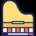 Clavichord Grand Piano Harpsichord Icon