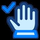 Coronavirus Clean Check Icon