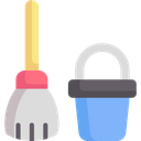 Cleaning Bucket Clean Icon