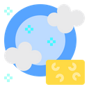Dish Cleaning Stay At Home Icon
