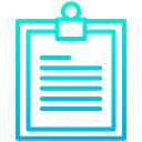 Notes Task Stationary Icon