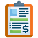 Clipboard Note Information Icon
