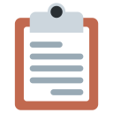 Clipboard Note Paper Icon