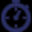 Clock Logistics Stopwatch Icon