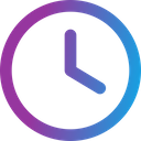 Clock Time Time And Date Icon
