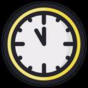 Clock New Year Celebration Icon