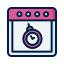 Clock Deadline Delay Icon