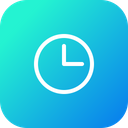 Clock Time Optimization Icon