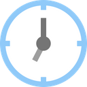 Clockwise Clock Time Icon