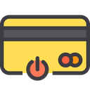 Power Close Card Credit Card Icon