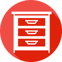 Cloth Drawer Belongings Icon