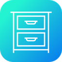 Cloth Imitation Drawer Icon