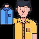 Cloth Seller Icon