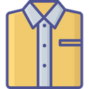 Clothes Dress Dress Shirt Icon