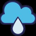 Cloud Cloud Drop Drop Icon