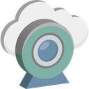 Cloud Camera Web Camera Online Multimedia Icon