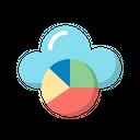 Graph Analytics Cloud Icon