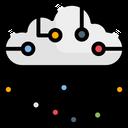 Cloud Circuit Icon