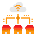 Cloud Home Smart Home Icon