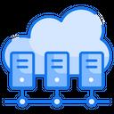 Cloud Data Center Icon